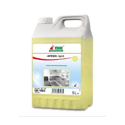 Ισχυρό καθαριστικό και απολυμαντικό APESIN RAPID   Ecoline