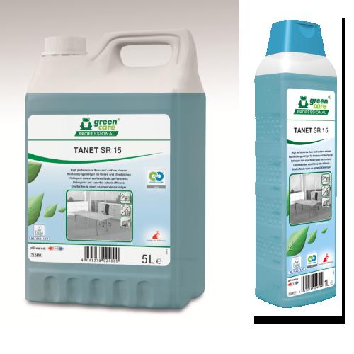 Υψηλής απόδοσης καθαριστικό γενικής χρήσης TANET SR 15 | Ecoline