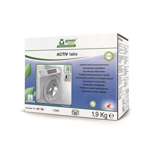 Οικολογικές ταμπλέτες πλυντηρίου ρούχων ACTIV TABS | Ecoline