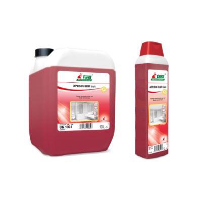 Ισχυρό όξινο καθαριστικό και απολυμαντικό APESIN SDR SAN Ecoline