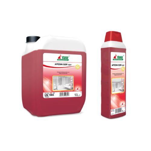 Ισχυρό όξινο καθαριστικό APESIN SDR SAN   Ecoline