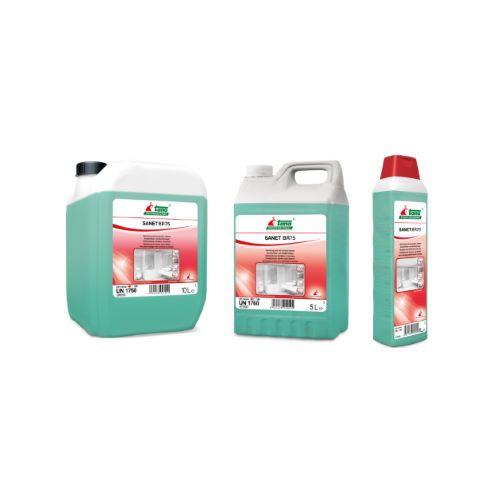 Ισχυρό όξινο καθαριστικό και αφαλατικό SANET BR 75 | Ecoline