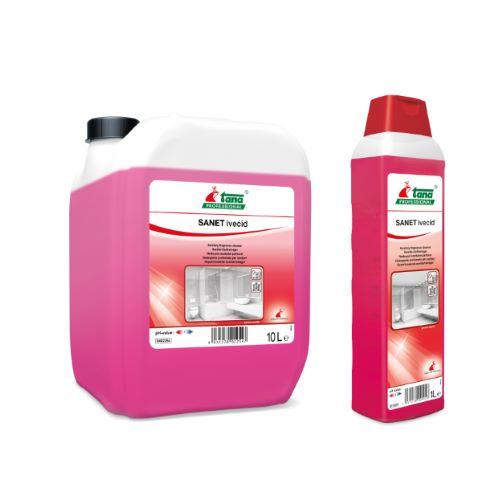 Ελαφρώς όξινο καθαριστικό και αρωματικό SANET IVECID | Ecoline