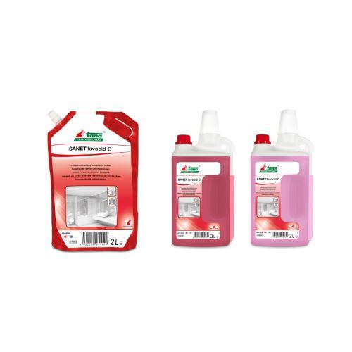 Υπερσυμπυκνωμένο όξινο καθαριστικό SANET LAVOCID C NF   Ecoline