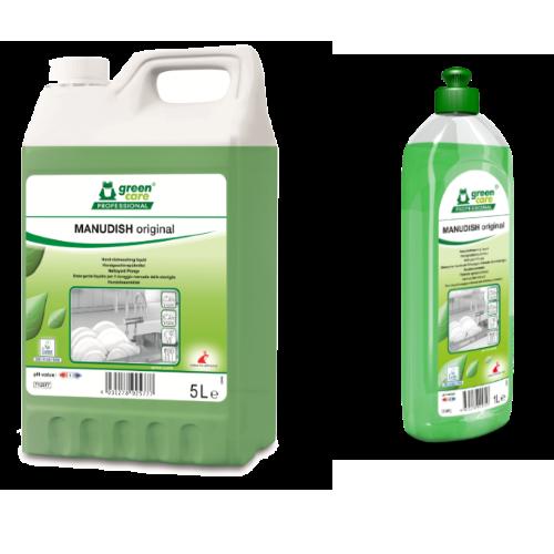 συμπυκνωμένο απορρυπαντικό για πλύσιμο σκευών MANUDISH ORIGINAL- Ecoline