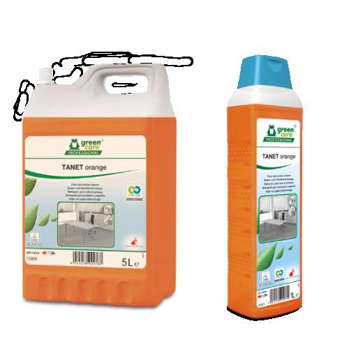 Υψηλής ποιότητας καθαριστικό TANET ORANGE   Ecoline