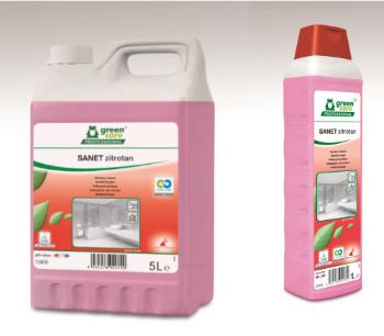Ελαφρώς όξινο καθαριστικό χώρων υγιεινής SANET ZITROTAN | Ecoline