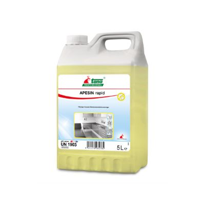 Ισχυρό καθαριστικό και απολυμαντικό APESIN RAPID | Ecoline