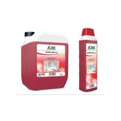 Ισχυρό όξινο καθαριστικό και απολυμαντικό APESIN SDR SAN|Ecoline